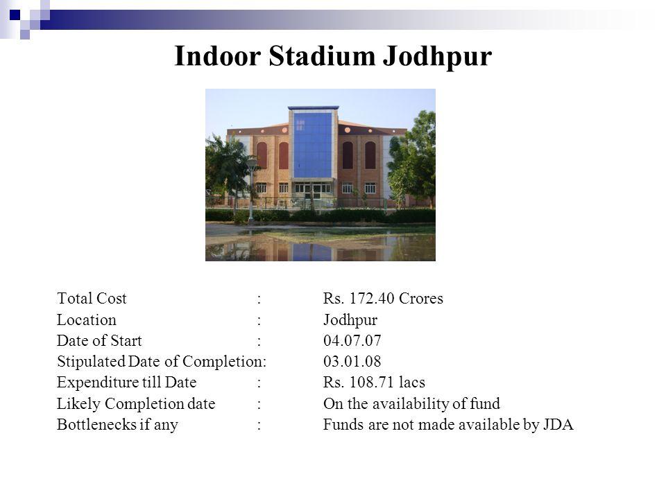 Indoor Stadium Jodhpur