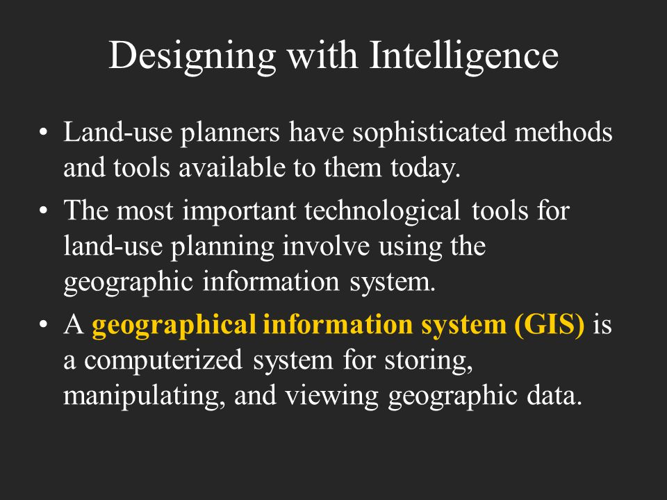 Designing with Intelligence