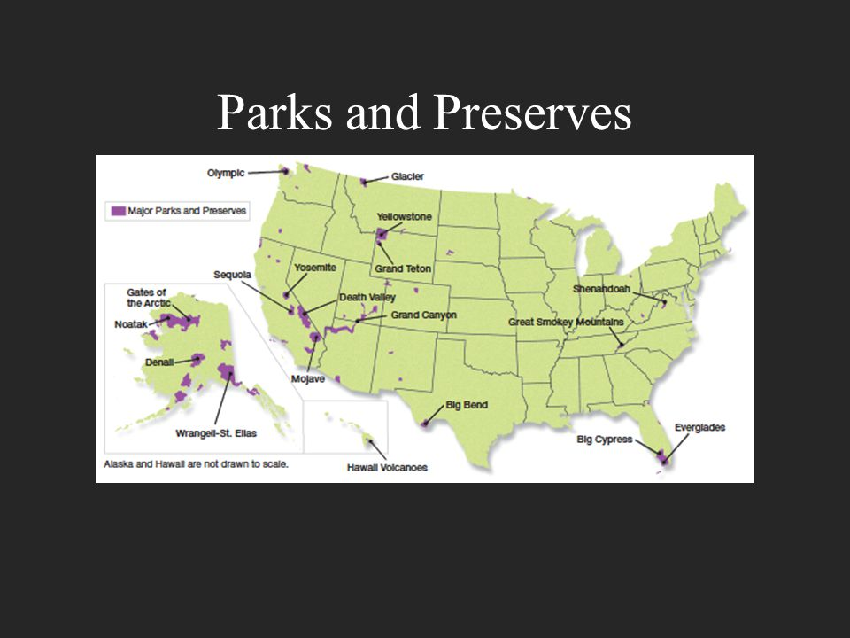 Parks and Preserves