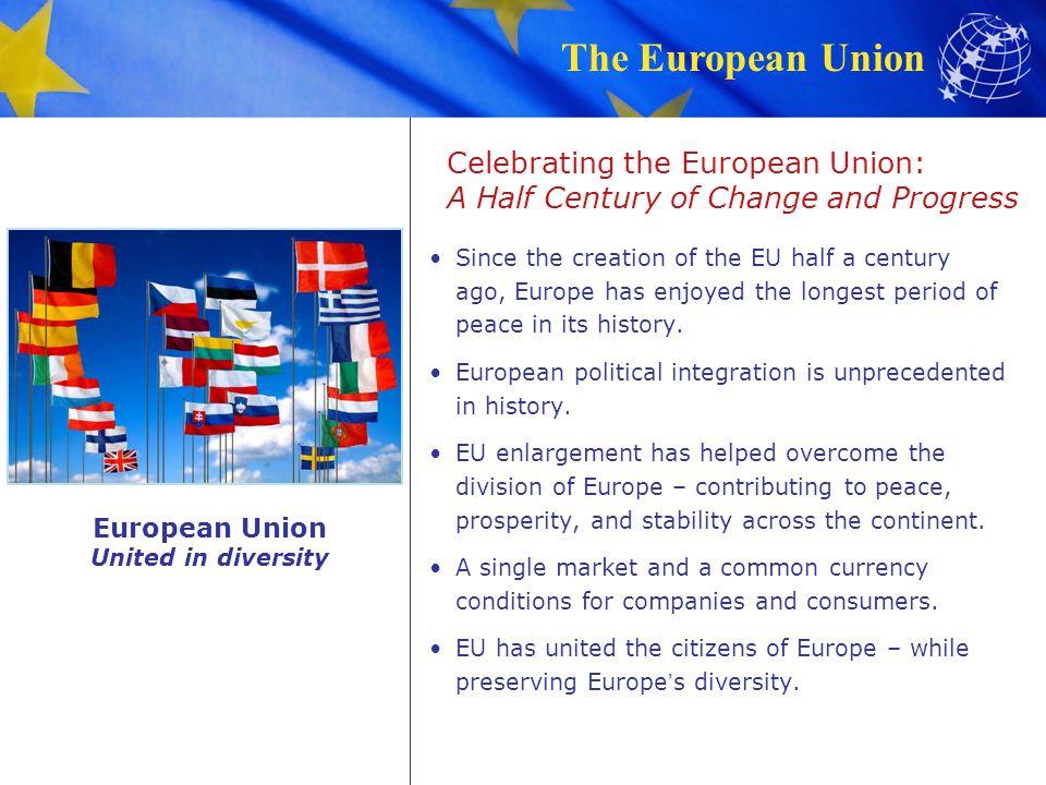 Celebrating the European Union: A Half Century of Change and Progress