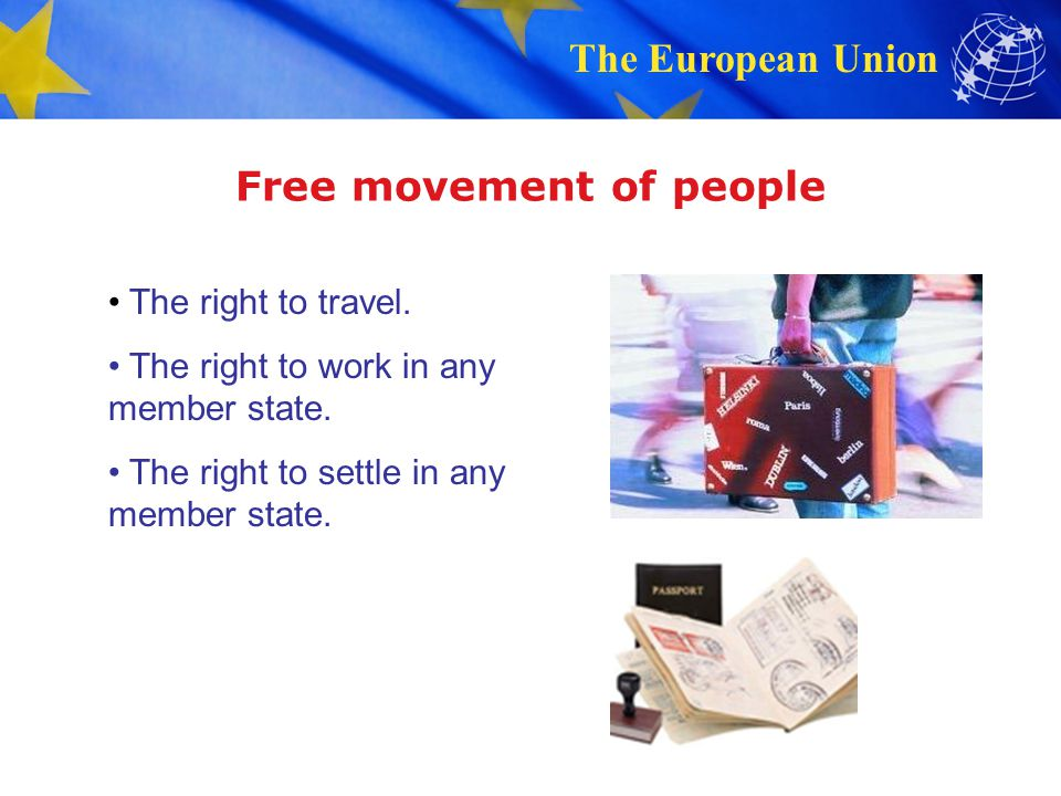 Free movement of people