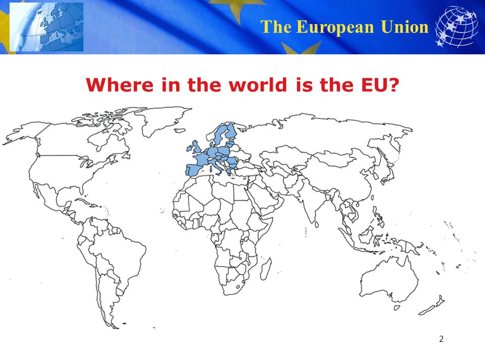 Where in the world is the EU