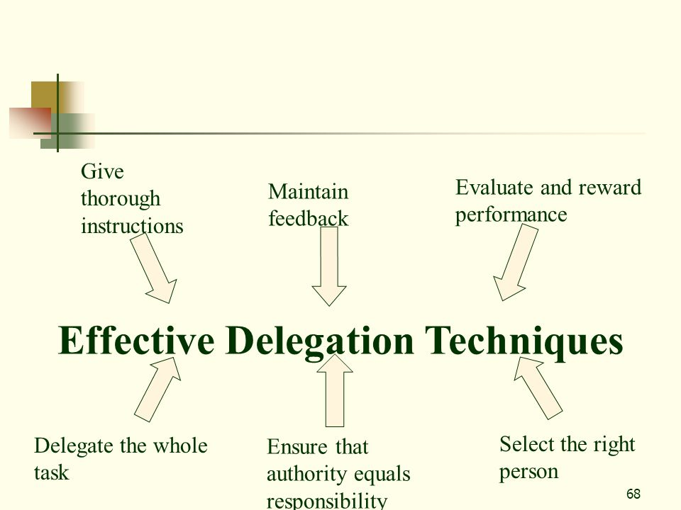 Effective Delegation Techniques