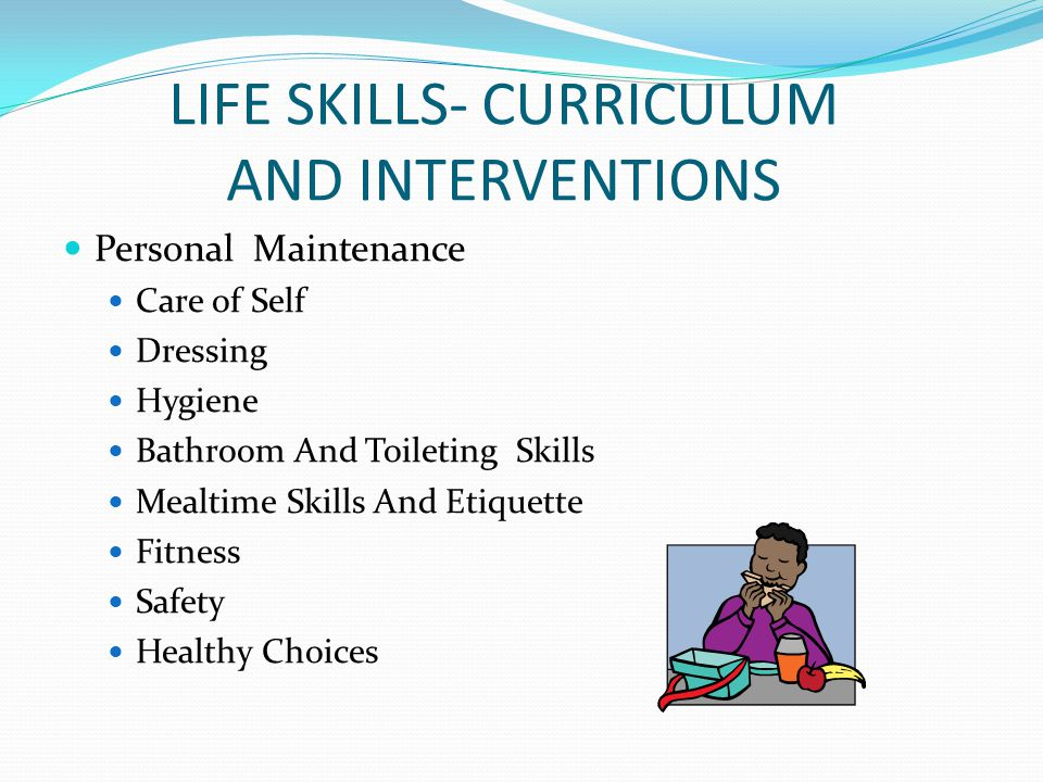 LIFE SKILLS- CURRICULUM AND INTERVENTIONS