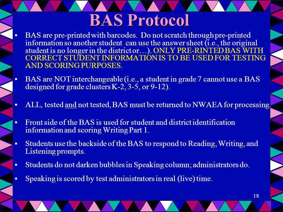 BAS Protocol