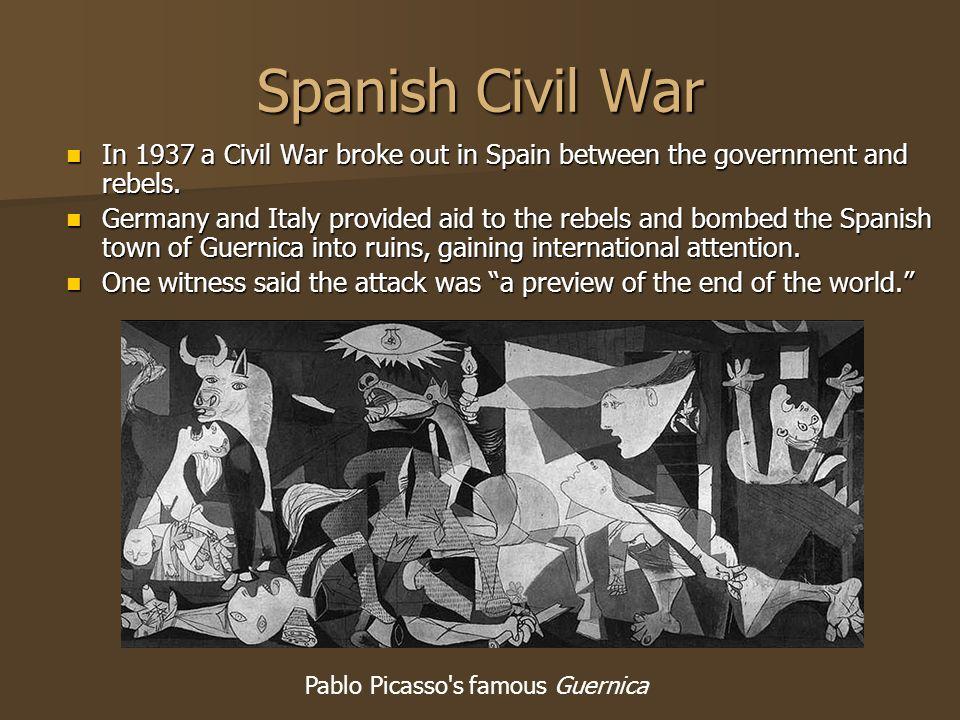 Pablo Picasso s famous Guernica