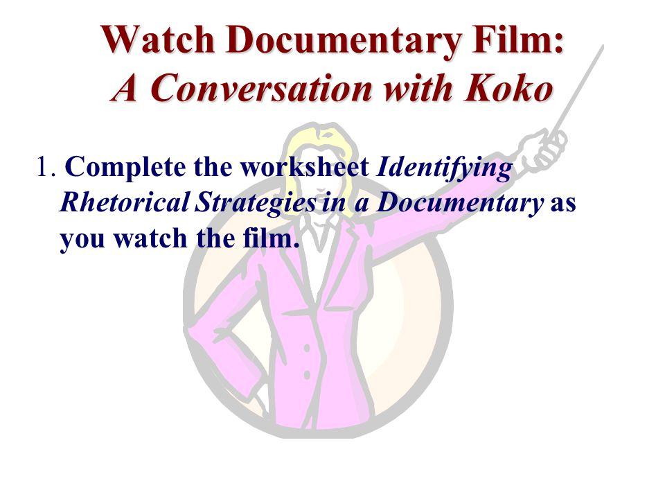 Watch Documentary Film: A Conversation with Koko