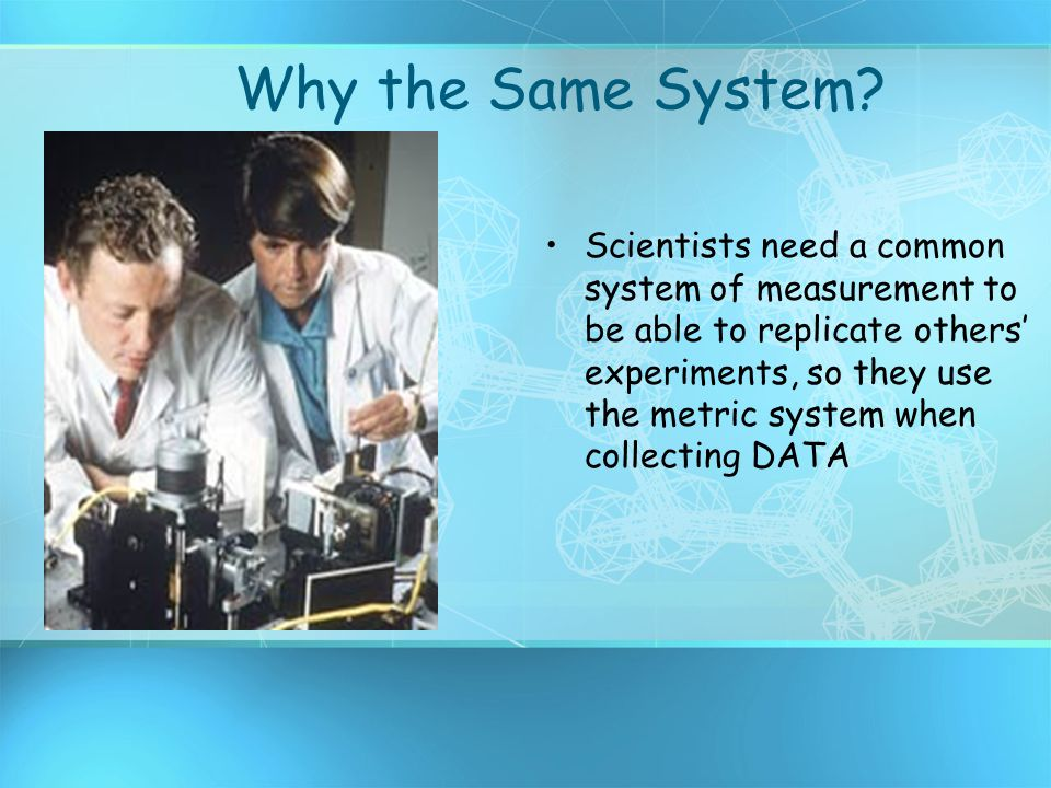 Why the Same System