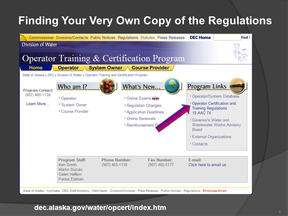 Finding Your Very Own Copy of the Regulations