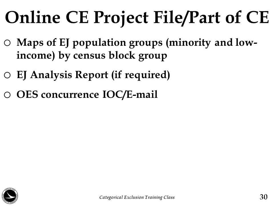 Online CE Project File/Part of CE