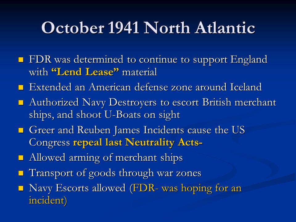 October 1941 North Atlantic