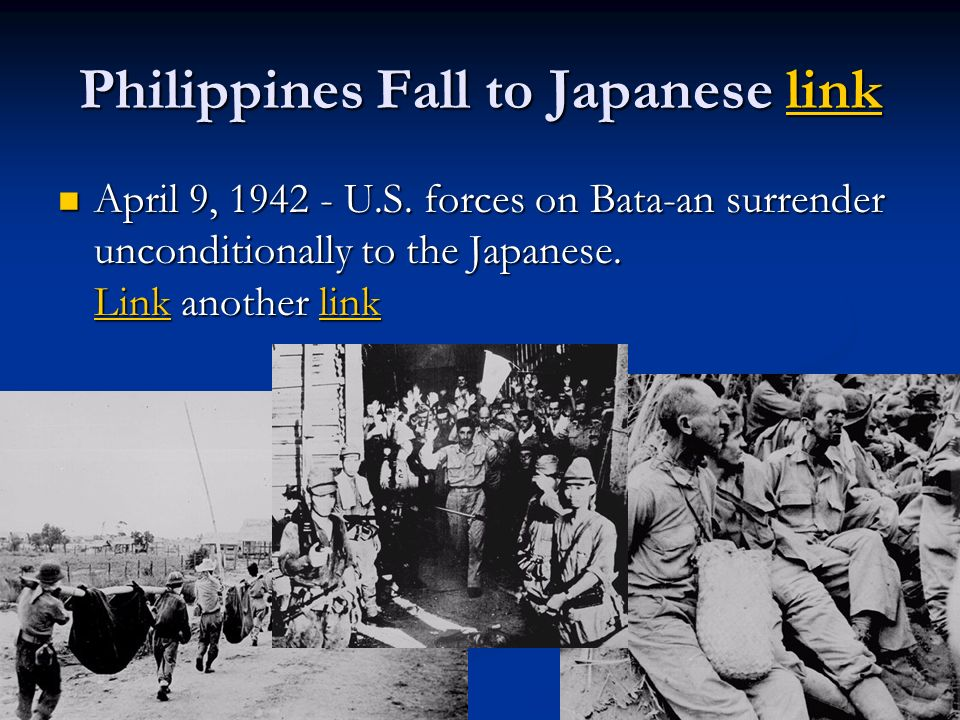 Philippines Fall to Japanese link