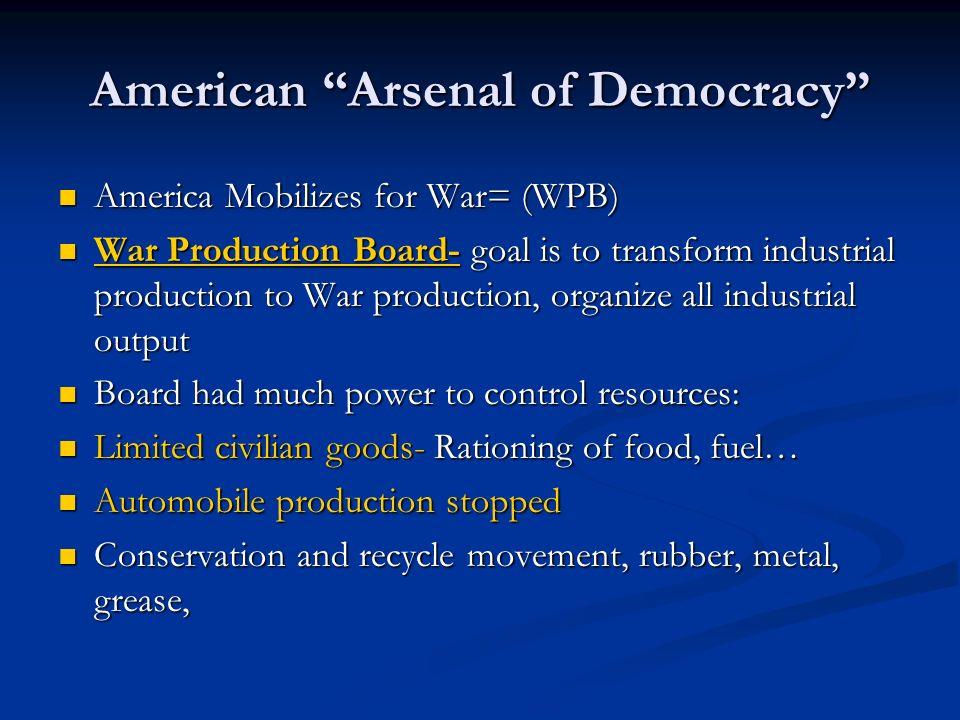 American Arsenal of Democracy