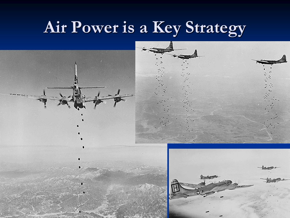 Air Power is a Key Strategy