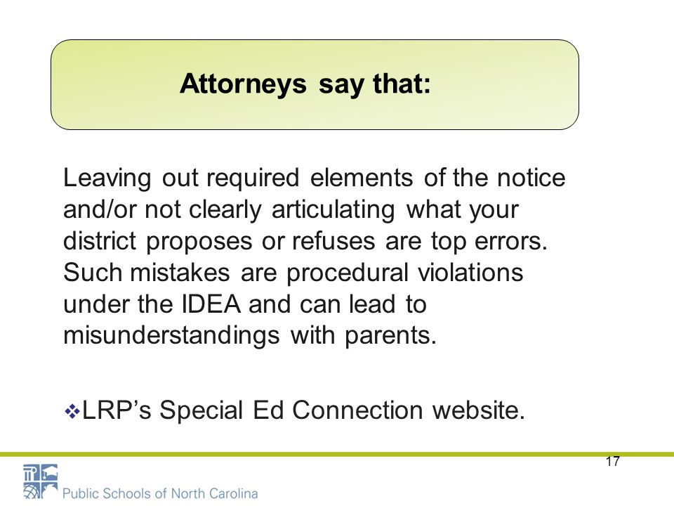 Attorneys say that: