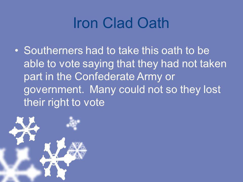 Iron Clad Oath