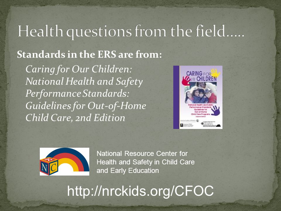 Health questions from the field…..