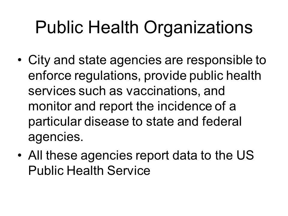 Public Health Organizations