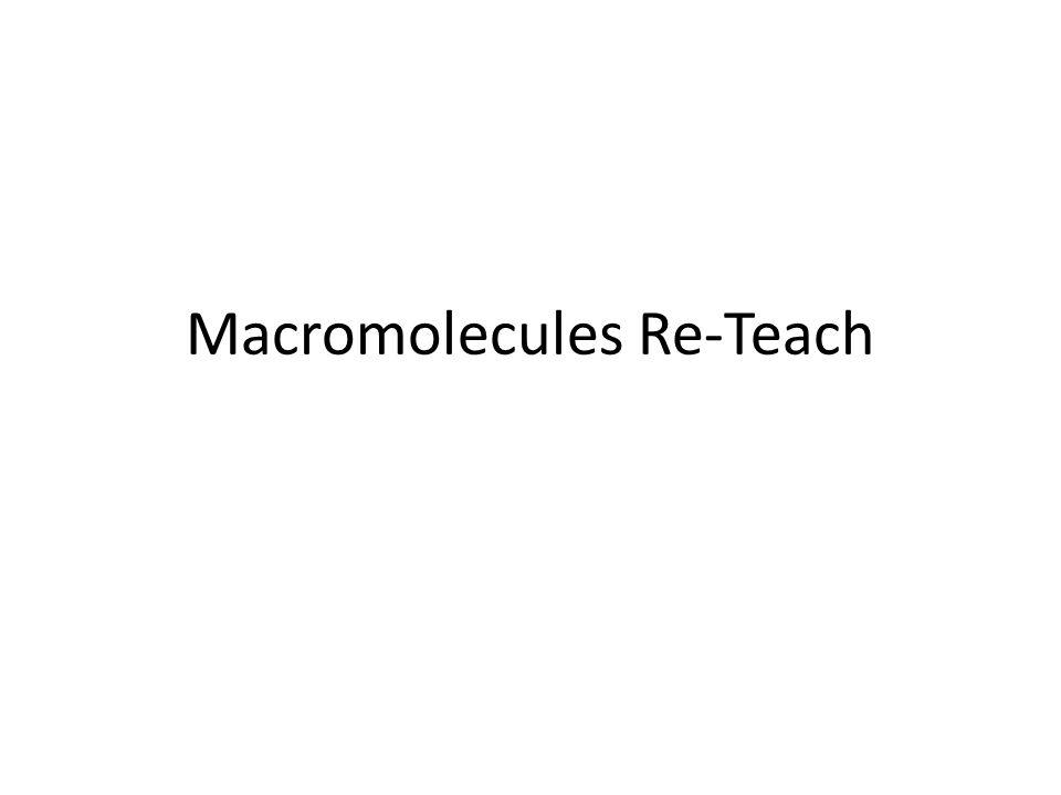 Macromolecules Re-Teach