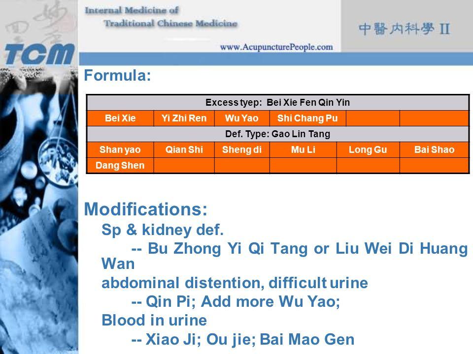 Excess tyep: Bei Xie Fen Qin Yin