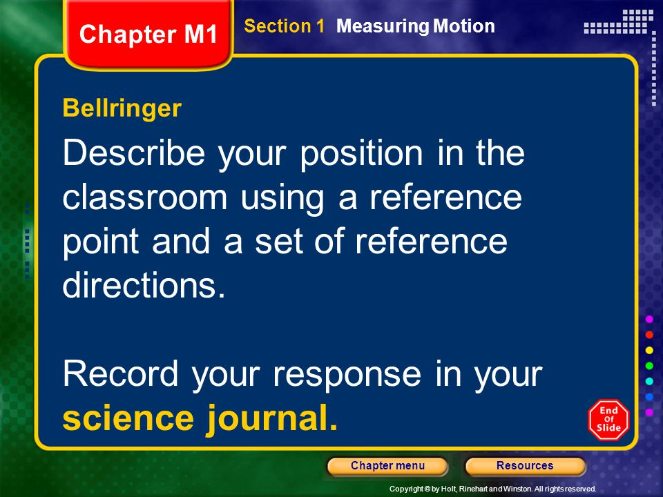 Record your response in your science journal.