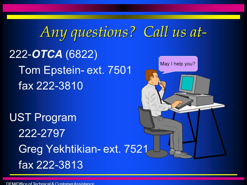 Any questions Call us at-
