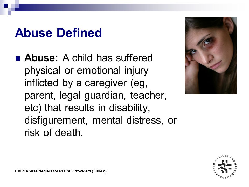Abuse Defined