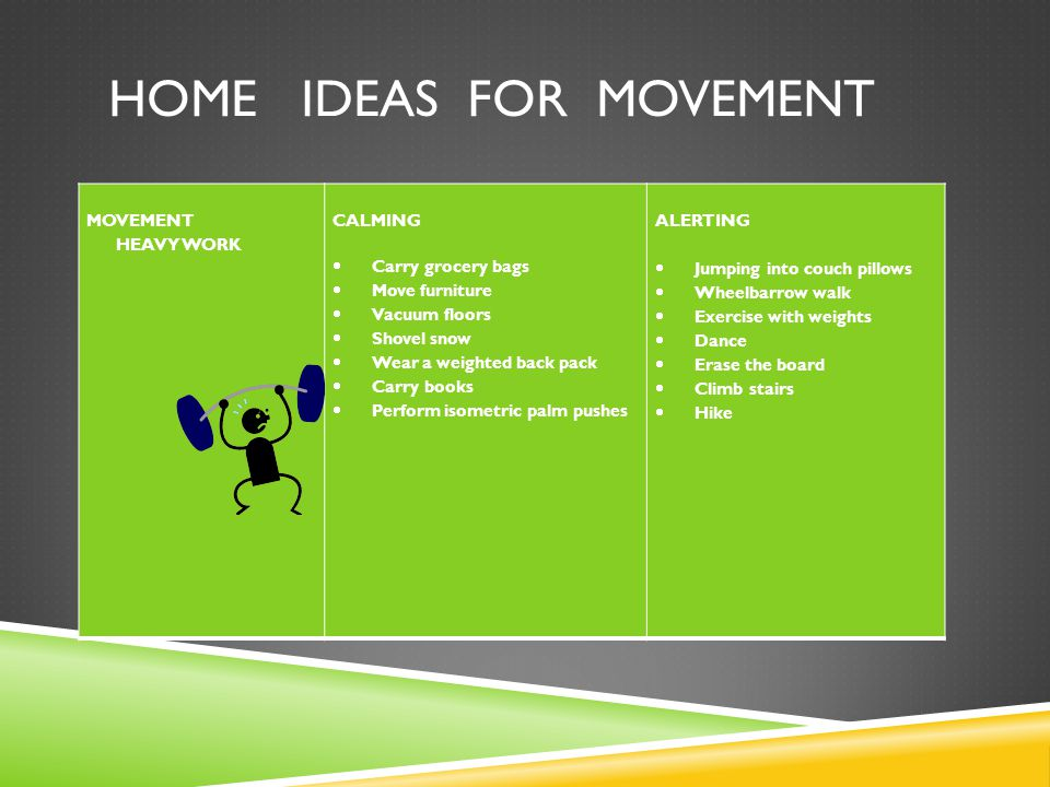 Home Ideas for Movement