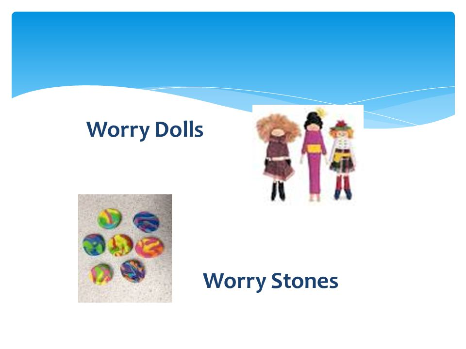 Worry Dolls Worry Stones
