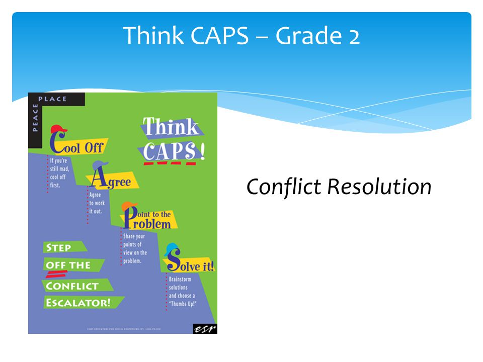 Think CAPS – Grade 2 Conflict Resolution