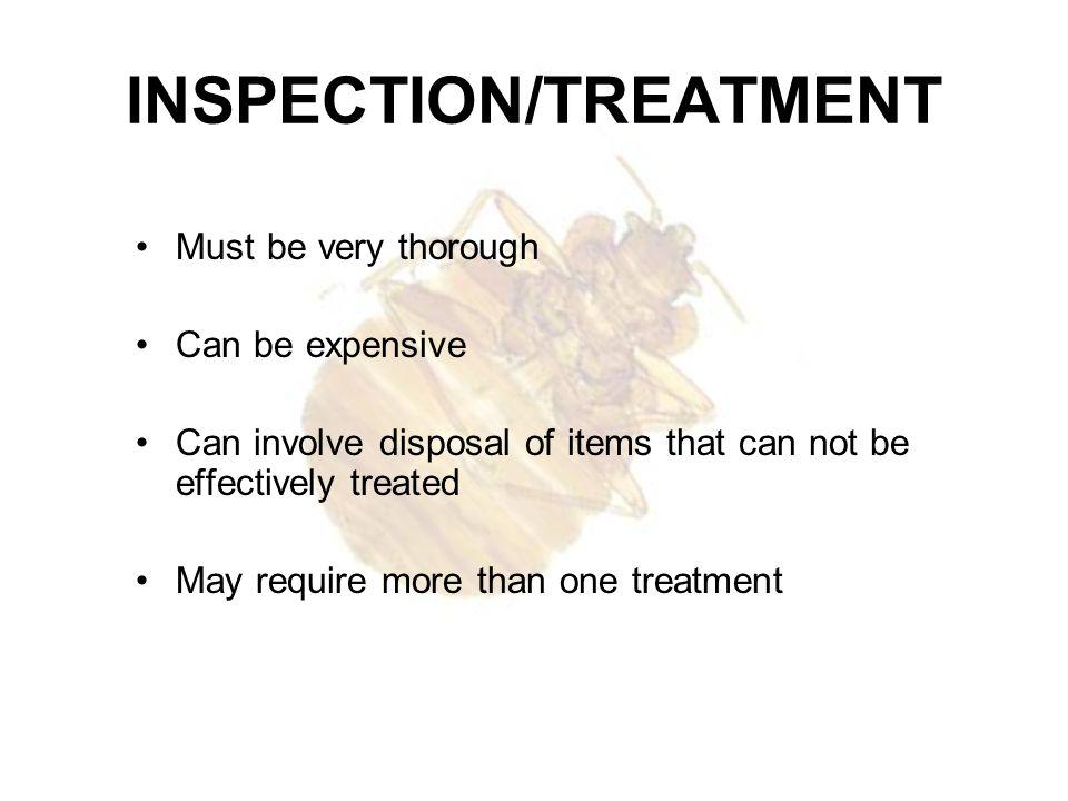 INSPECTION/TREATMENT