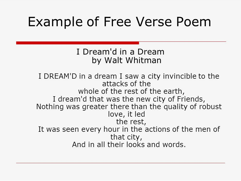 Whitman and Dickinson Poetry