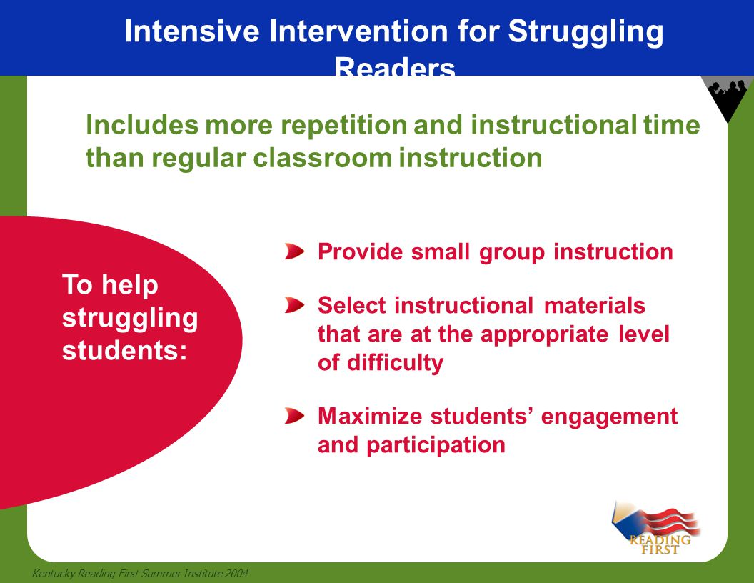 Intensive Intervention for Struggling Readers