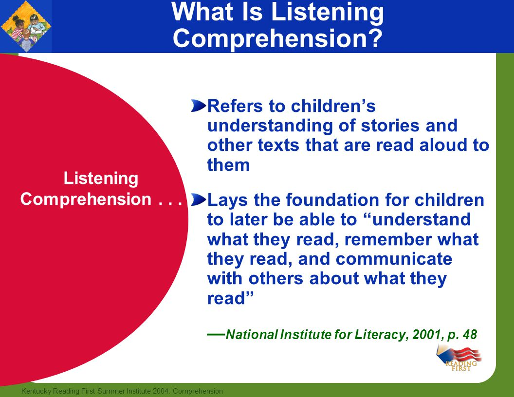 What Is Listening Comprehension