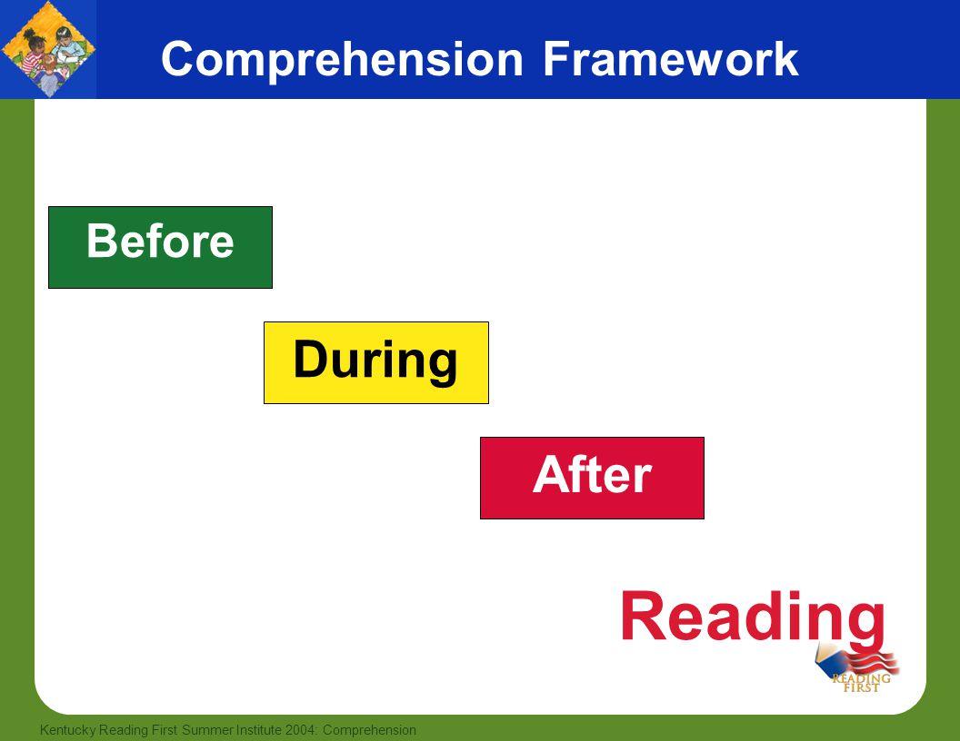 Comprehension Framework