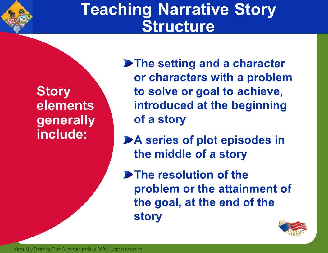 Teaching Narrative Story Structure