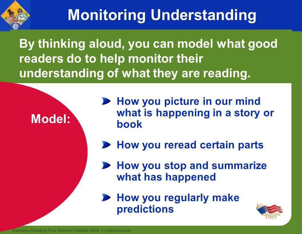 Monitoring Understanding