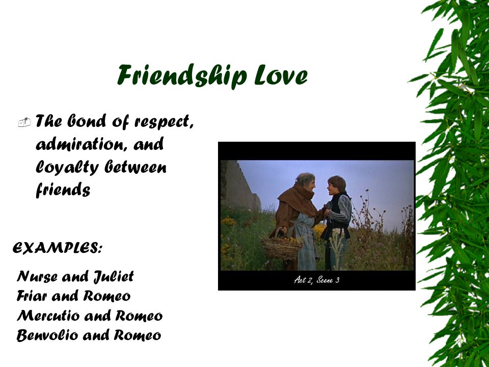 loyalty in romeo and juliet Romeo and juliet writing prompts  1  choose one or more characters in romeo and juliet and discuss how loyalty (or the lack thereof).