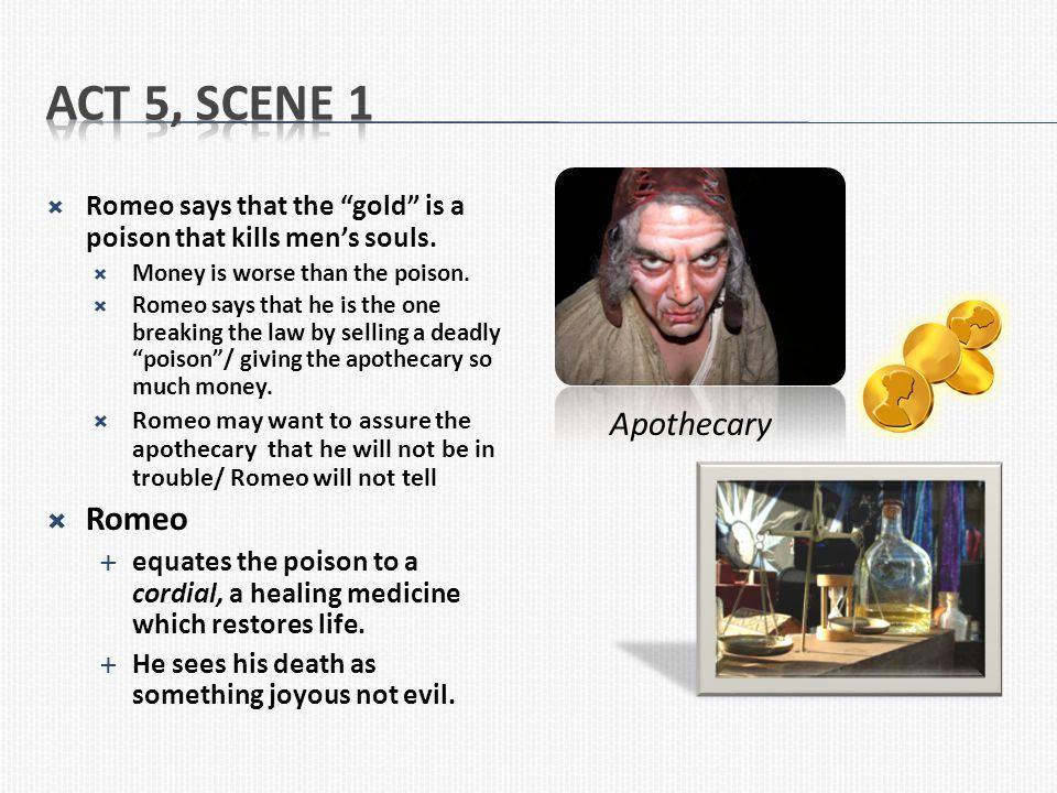 Act 5, Scene 1 Romeo Apothecary