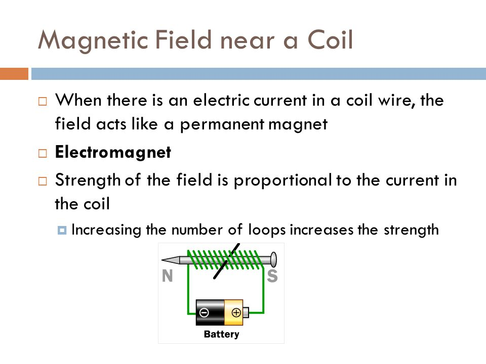 Magnetic Field near a Coil