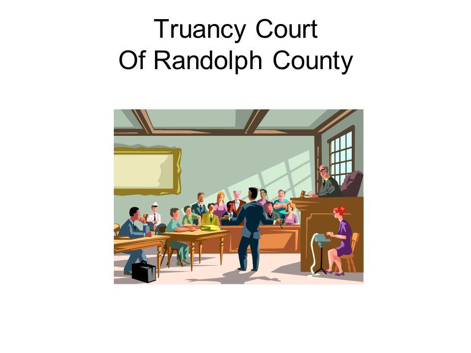 Truancy Court Of Randolph County