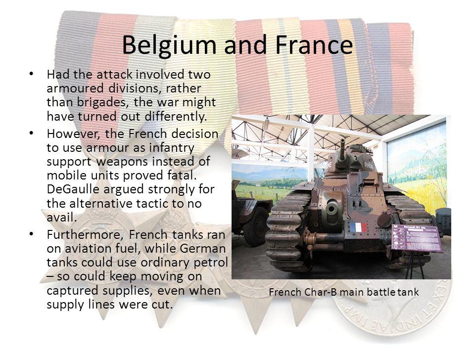 French Char-B main battle tank