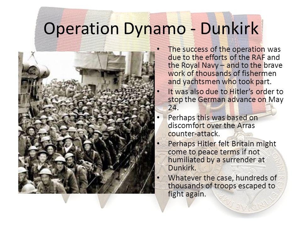 Operation Dynamo - Dunkirk