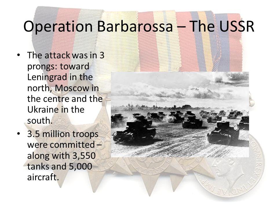 Operation Barbarossa – The USSR