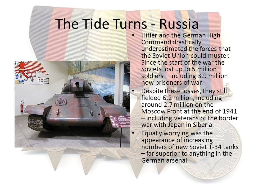 The Tide Turns - Russia