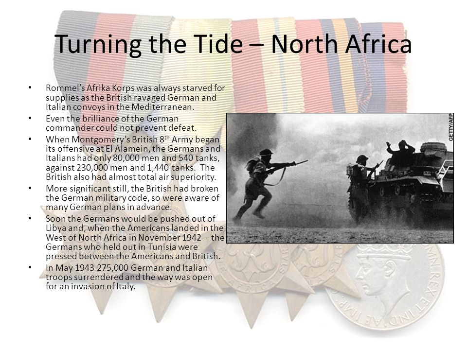 Turning the Tide – North Africa