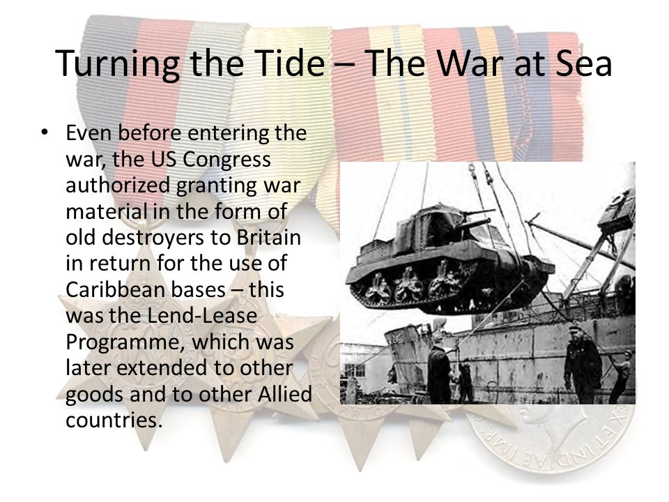 Turning the Tide – The War at Sea