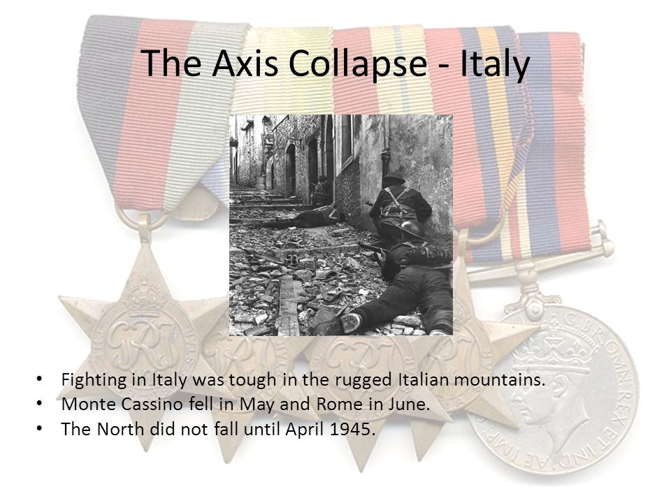 The Axis Collapse - Italy