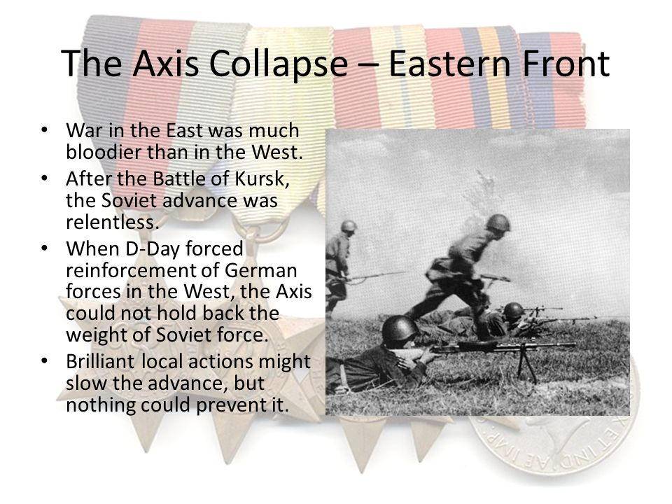 The Axis Collapse – Eastern Front