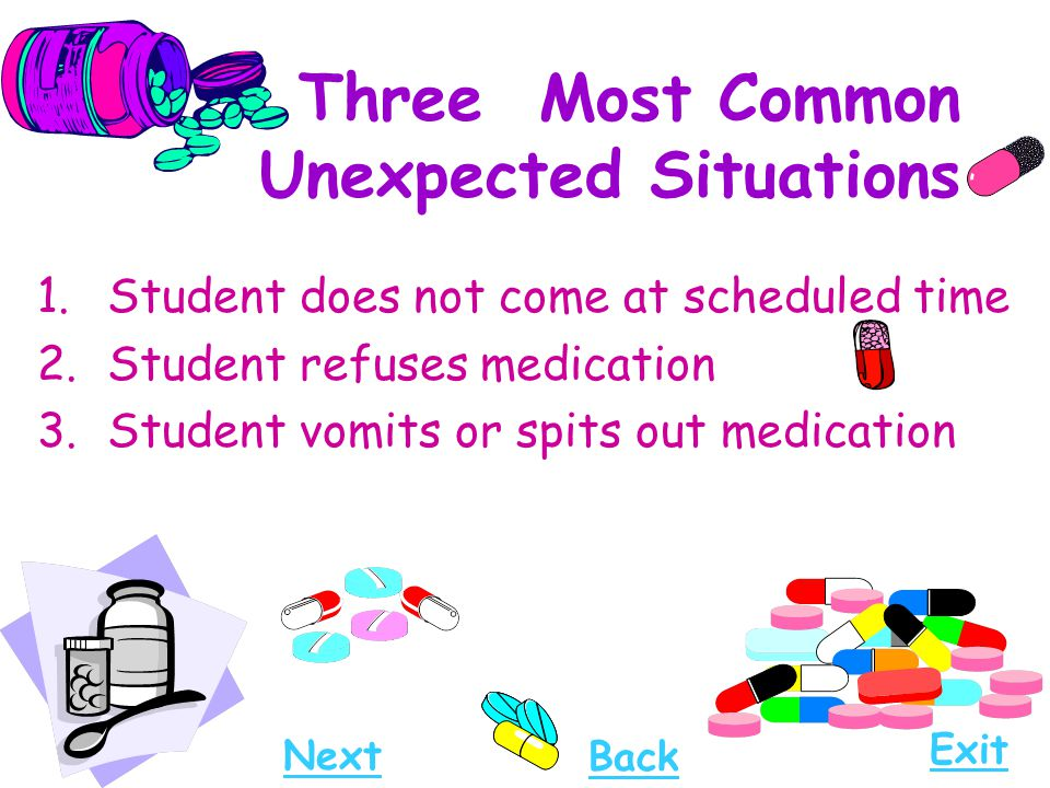 Three Most Common Unexpected Situations